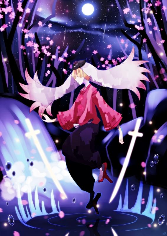 Sakura Silhouette by Yuhke