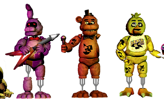 f naf body create meme from withered freddy full body from withered
