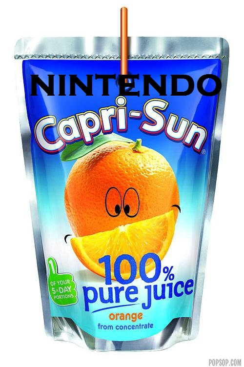 NINTENDO CAPRISUN by KeevanGoliath