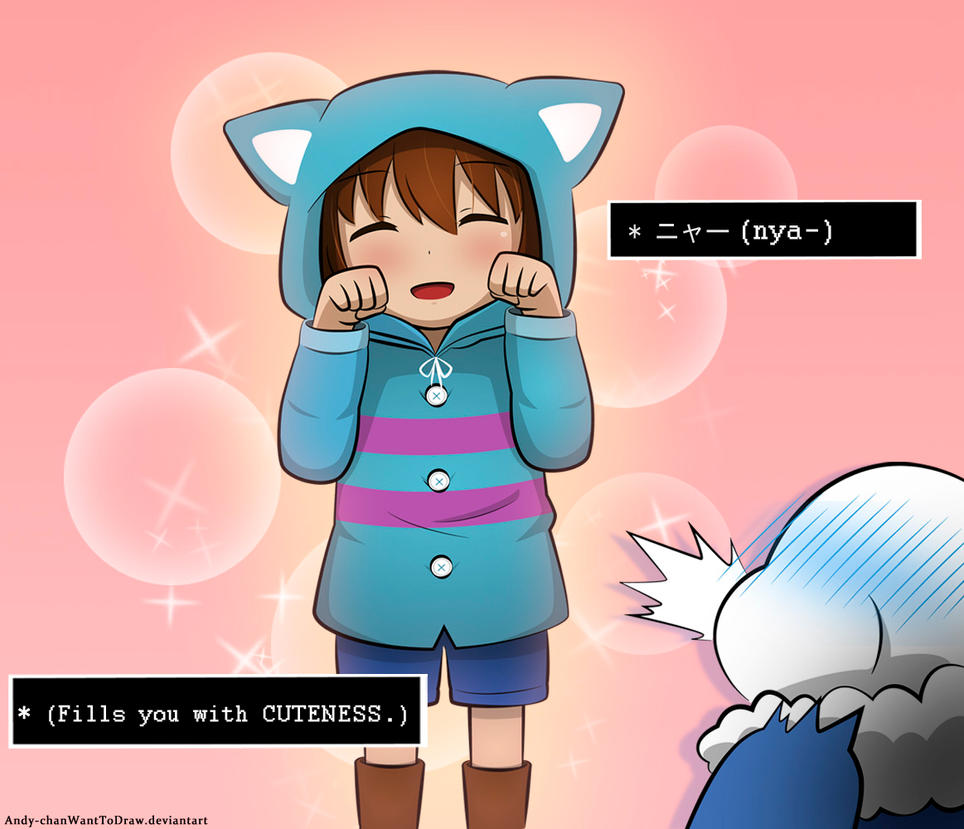Undertale - Frisk x Sans by Andy-chanWantToDraw