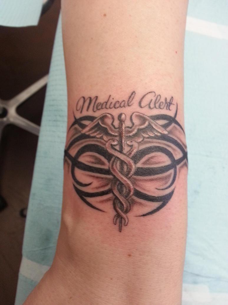 1000 images about medical alert tattoos on pinterest allergies nursing tattoos and tattoo. Black Bedroom Furniture Sets. Home Design Ideas