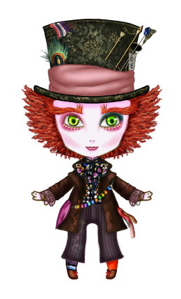 Knuffel Mad Hatter by The-Rasmus-Raven