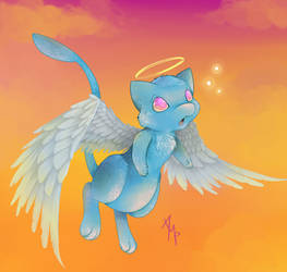 Once in a blue mew
