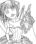Doll Lineart
