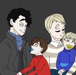 Look at their children