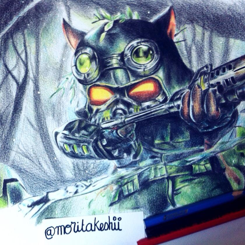 Teemo Omega Squad League of legends Drawing by ...