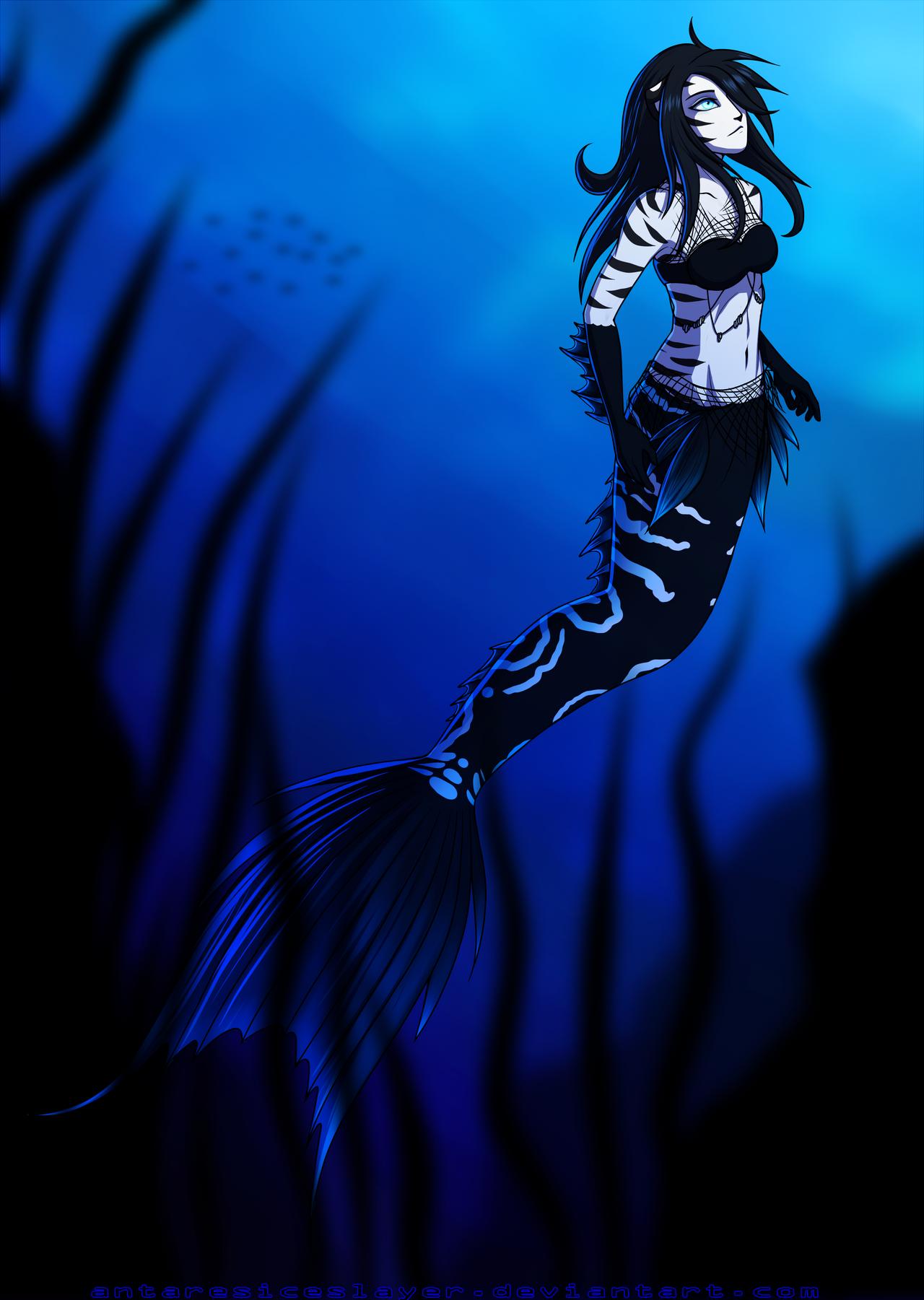 Nariko mermaid by AntaresIceslayer