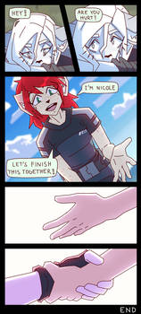 'New Friend' [Page 8 END]