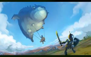 airship by jo-nah