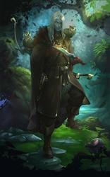 Elven Hunter by jo-nah
