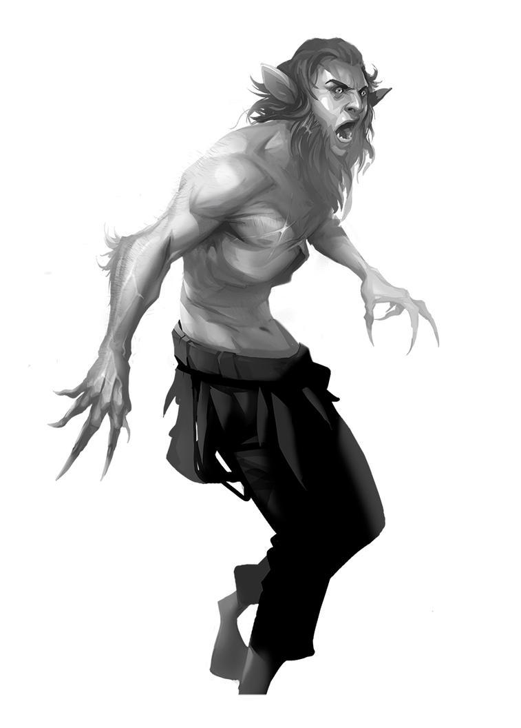 Werewolf by jo-nah
