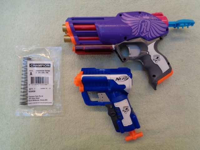 Spring Upgrade for Nerf Messenger/Triad/Snapfire by