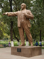 September 26th, Lenin Statue, Shymkent
