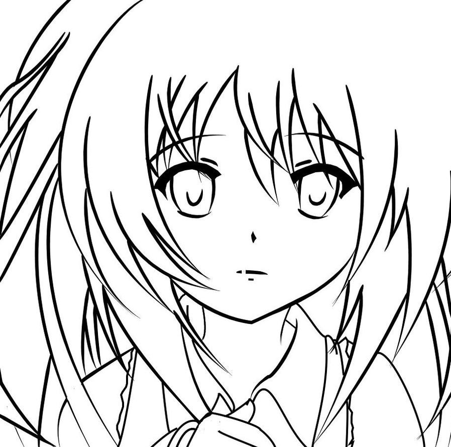 anime hatsune miku coloring pages