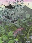 Turtles in the sky (Underwater Tropics day 1) by AdrStefanska