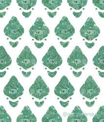Green fish pattern (Underwater Tropics day 16)