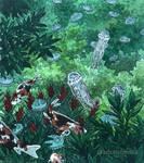 Abundance of jellyfish (Underwater Tropics 25) by AdrStefanska