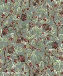 Beetles pattern by AdrStefanska