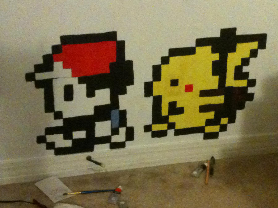 8 Bit Pixel Art Let Em Explore Your Room Do It Yourself