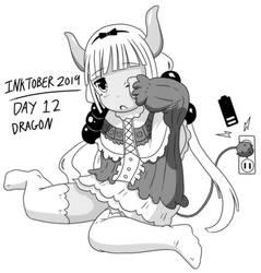 Inktober 2019 - Day 12 - Dragon