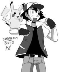 Inktober 2019 - Day 13 - Ash