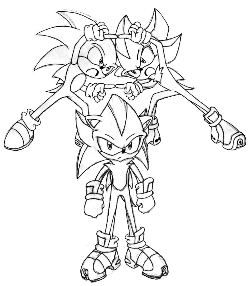 Sonic  Shadow fusion by Trakker on DeviantArt