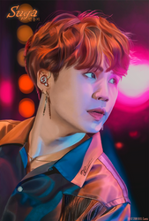 BTS - Colorful Suga by godebbies