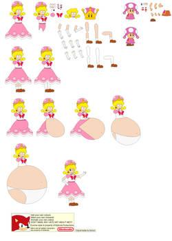 Peachette Character builder