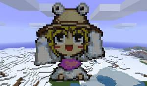 Chibi Suwako in Minecraft by Noob4u