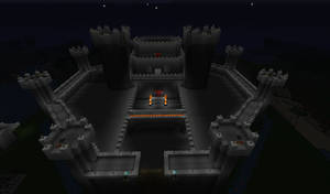 Castle at Nighttime