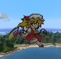 Flandre in Minecraft by Noob4u