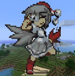 Aya In Minecraft by Noob4u