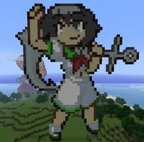 Captain Murasa in Minecraft