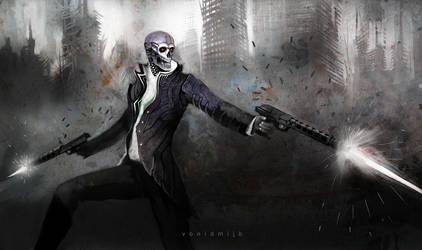 Zombie Terminator by neo2055