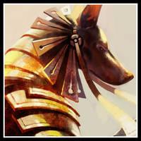 _anubis_sun_detail by neo2055