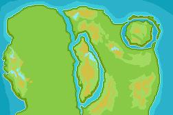 Izaga Region Map - WIP. by ZedKalEios