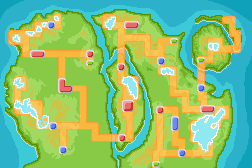 Izaga Region Map, v.3.3 Final. by ZedKalEios