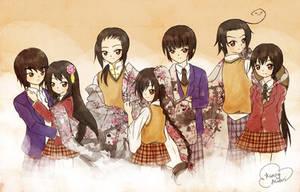 Hetalia: Asian Family by kunogi09midori