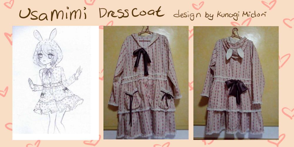 Usamimi Dresscoat by kunogi09midori