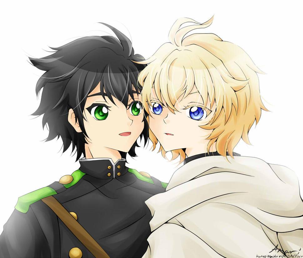 Yuu and Mika by kunogi09midori
