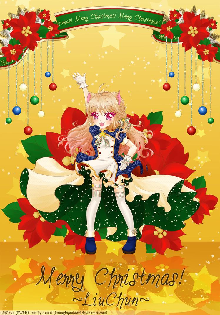 Christmas Card 2015 ft. Liu Chun by kunogi09midori