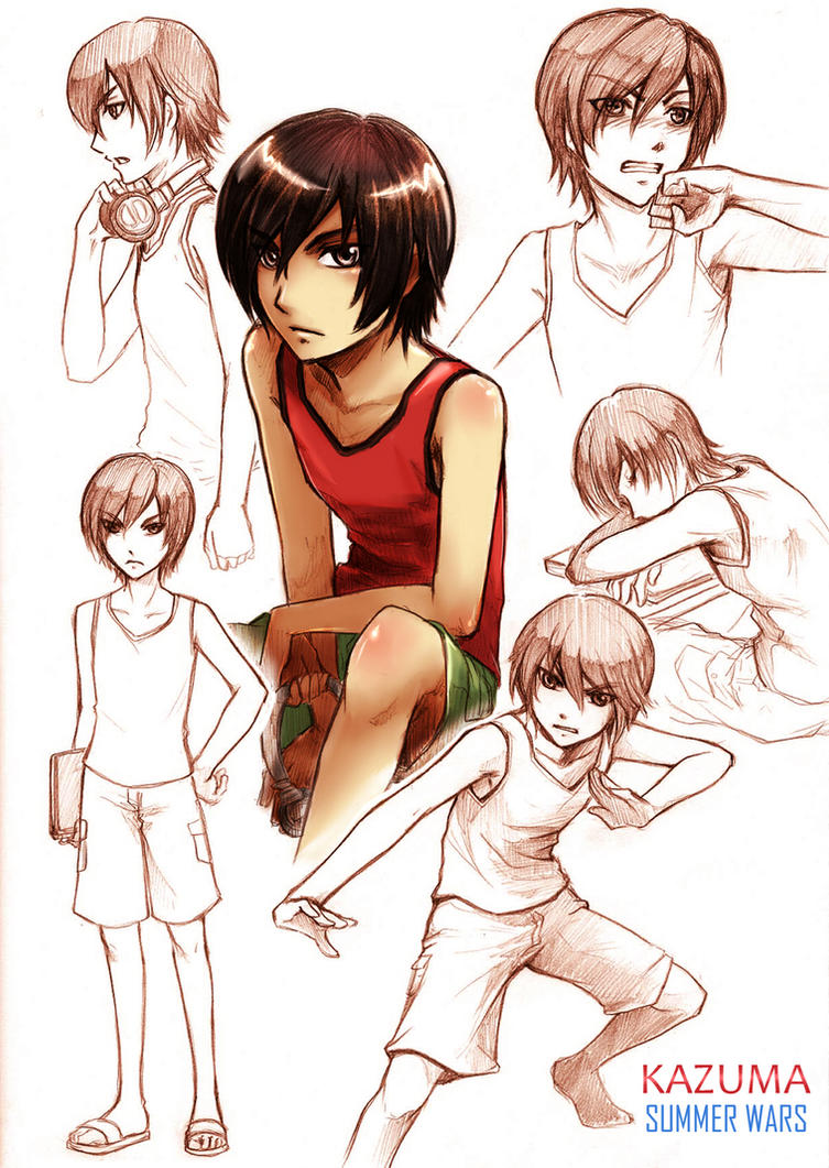 SW_kazuma sketch by V-Sil