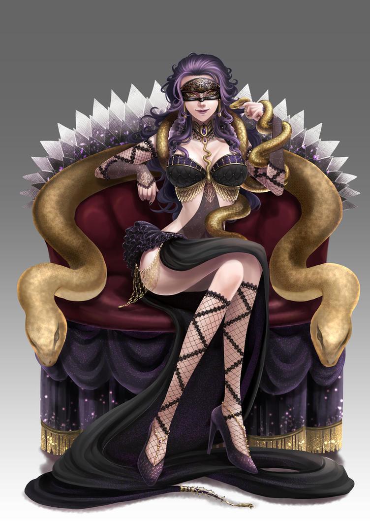 MC-Lady Medusa by V-Sil