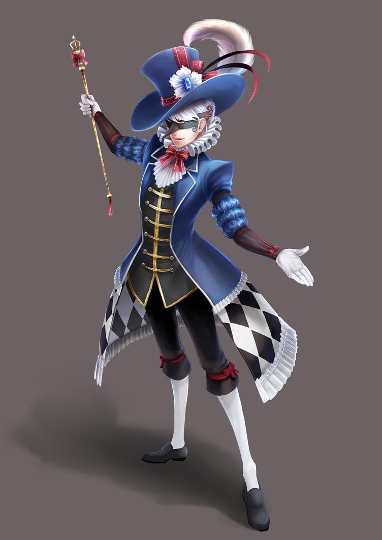 MC-Phantom the magician by V-Sil