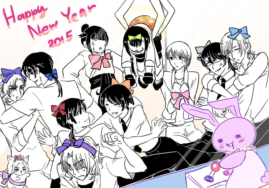 HAPPY NEW YEAR 2015 by V-Sil