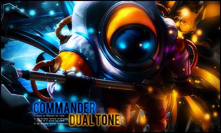 Commander Dual Tone by StormShadownGFX