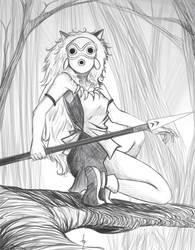 fan art  mononoke princess