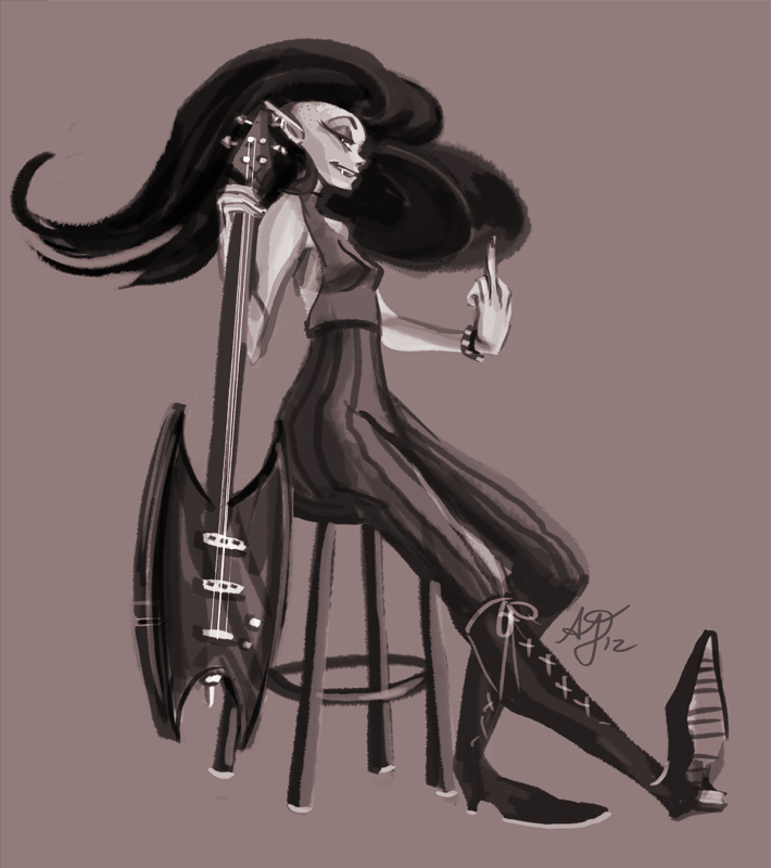stylish marceline by papier-crane