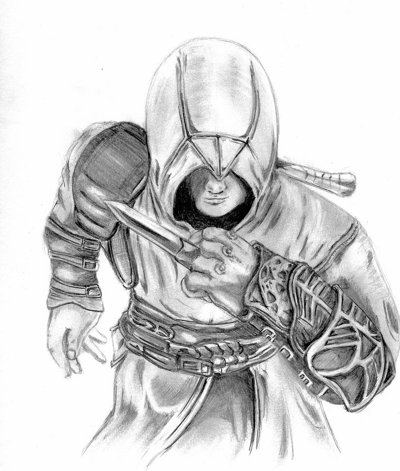 Altair Sketch by PatVince