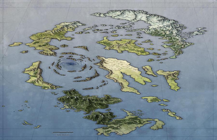 O Arquipélago Archipelago_world_map_by_torstan